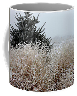 Frosted Grasses Coffee Mug