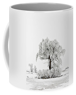 Coffee Mug featuring the photograph Frosted by Mary Jo Allen