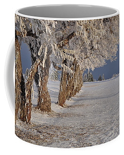 Frosted Trees Coffee Mug