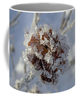 Frosted Willow Rose Coffee Mug by Cathy Mahnke