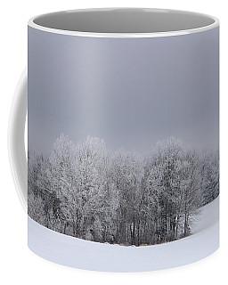 Frosty Farm Fields Coffee Mug