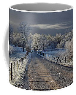 Frosty Sparks Lane Coffee Mug