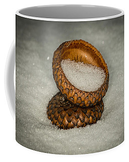 Frozen Acorn Cupule Coffee Mug