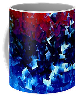 Coffee Mug featuring the digital art Frozen Apple by Greg Moores