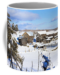 Frozen In Time Two In Color Coffee Mug