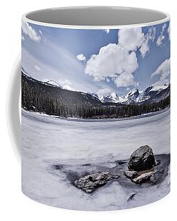 Coffee Mug featuring the photograph Frozen Lake by Mae Wertz