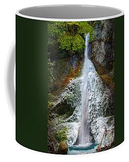 Frozen Marymere Falls Coffee Mug by Inge Johnsson
