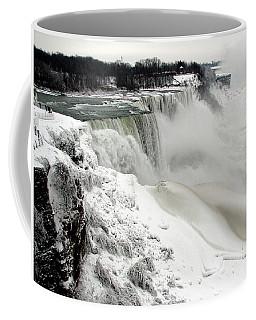 Frozen Niagara And Bridal Veil Falls Coffee Mug