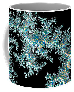 Coffee Mug featuring the digital art Frozen by Susan Maxwell Schmidt