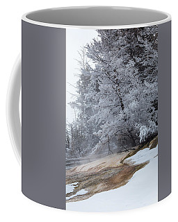 Coffee Mug featuring the photograph Frozen Tree by Michael Chatt