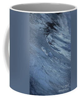 Coffee Mug featuring the photograph Frozen Wave by First Star Art