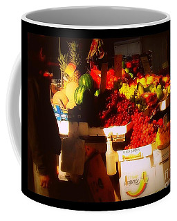 Fruit A La Caravaggio Coffee Mug by Miriam Danar