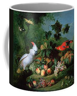 Fruit And Birds Coffee Mug