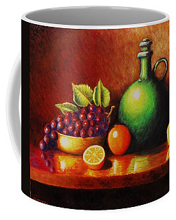Fruit And Jug Coffee Mug