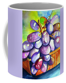 Purple Grapes Coffee Mug