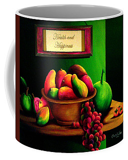 Fruits Still Life Coffee Mug