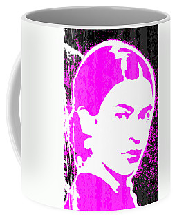Fuchsia Frida Coffee Mug