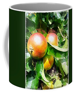Fugly Manor Apples Coffee Mug