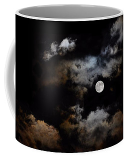 Full Moon After The Storm Coffee Mug