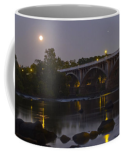 Full Moon And Jupiter-1 Coffee Mug