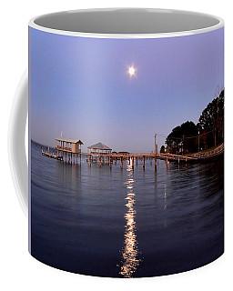 Full Moon On The Bay Coffee Mug