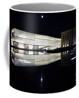 Full Moon Over Nelson Atkins Museum In Kansas City Coffee Mug by Catherine Sherman