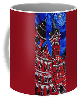 Full Moon Over Samford Coffee Mug by Carole Foret