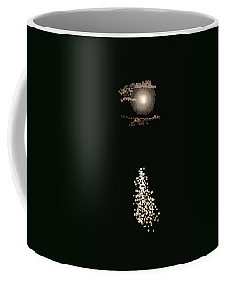 Full Moon Pointillism Coffee Mug