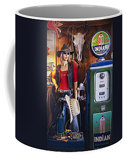 Full Service Route 66 Gas Station Coffee Mug