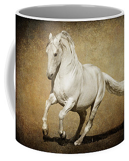 Coffee Mug featuring the photograph Full Steam Ahead by Wes and Dotty Weber