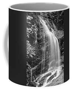 Fuller Falls Waterfall Black And White Coffee Mug