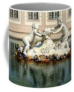 Coffee Mug featuring the photograph Fun On The Water by Mariola Bitner