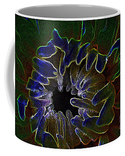 Coffee Mug featuring the photograph Funky Flower by Judy Wolinsky