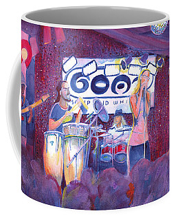 Funky Johnson At The Goat Coffee Mug