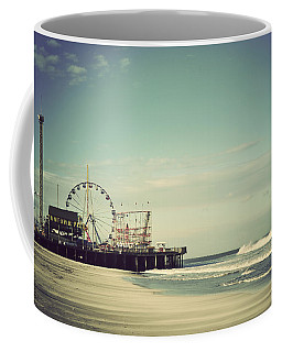 Funtown Pier Seaside Heights New Jersey Vintage Coffee Mug