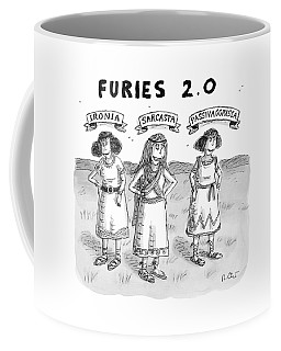Furies 2.0 -- Ironia Coffee Mug