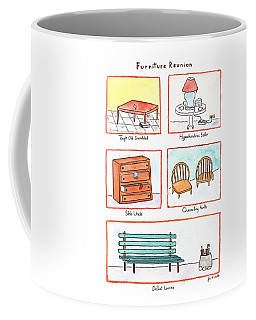 Furniture Reunion Coffee Mug