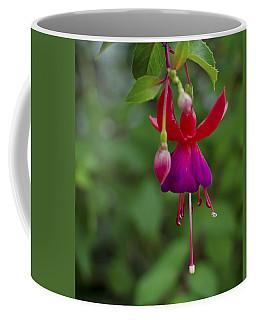 Fuschia Flower Coffee Mug