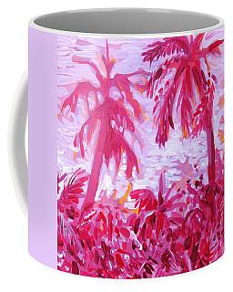 Fuschia Landscape Coffee Mug