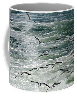Fying Gulls Coffee Mug