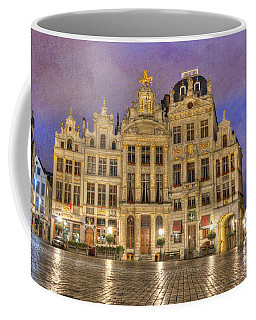 Gabled Buildings In Grand Place Coffee Mug