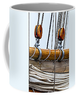 Gaff And Mainsail Coffee Mug by Marty Saccone