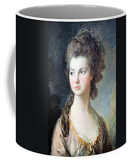 Gainsborough's The Hon. Mrs. Thomas Graham Up Close Coffee Mug by Cora Wandel