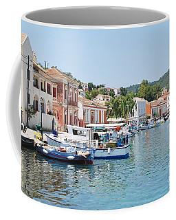 Gaios Harbour On Paxos Coffee Mug