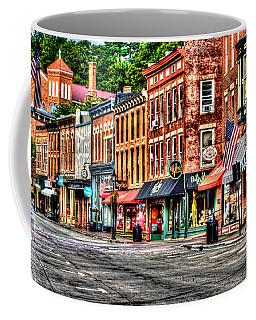 Galena Main Street Early Summer Morning Coffee Mug