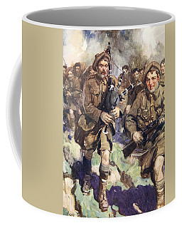 Gallant Piper Leading The Charge Coffee Mug