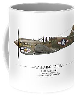Galloping Gator P-40k Warhawk Coffee Mug