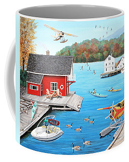 Galloping Goose Lake Coffee Mug