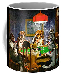 Coffee Mug featuring the digital art Game On 1 by Ericamaxine Price