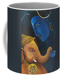 Ganesha And Shiva Coffee Mug